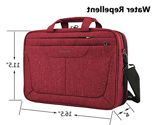 inch Briefcase Laptop Case Tablet Sleeve RFID