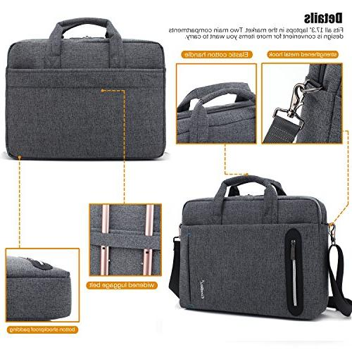 CoolBELL inch Bag Bag Multi-compartment Briefcase Nylon Bag Laptop/Ultrabook /