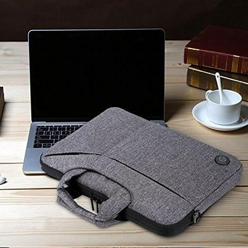 Laptop Bag,BRINCH Slim Water Resistant Portable Laptop