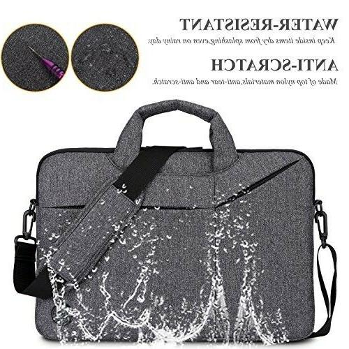 Laptop Bag,BRINCH Water Resistant Messenger Portable