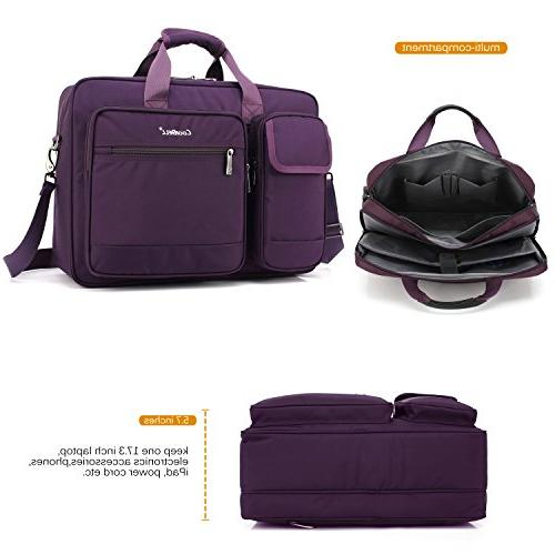 CoolBELL 17.3 Inch Briefcase Nylon Bag Hand Bag for Laptop/Ultrabook / Tablet/MacBook Dell/HP /