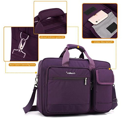 CoolBELL Inch Laptop Briefcase Protective Nylon Shoulder Hand Bag for Laptop/Ultrabook / /