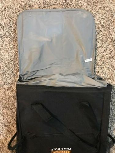 Army Laptop Rolling Luggage Bag Black Roller