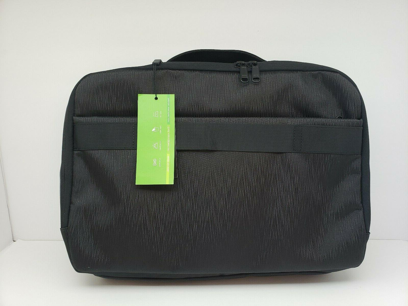 laptop messenger bag with external charge port