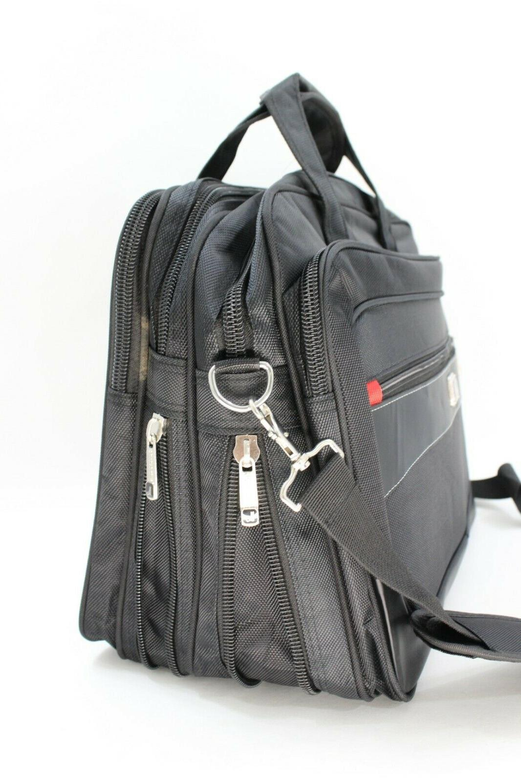 Laptop Notebook Carrying Bag Case Expandable up