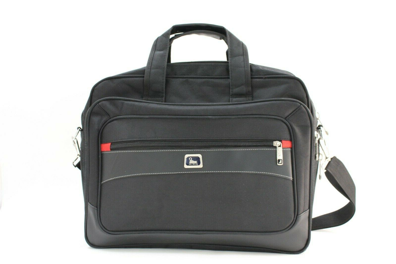 laptop notebook carrying briefcase bag case expandable