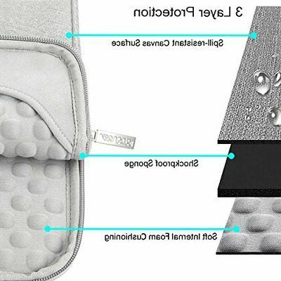 MOSISO Laptop Sleeve Compatible 13-13.3 Inch MacBook Pro, Air,