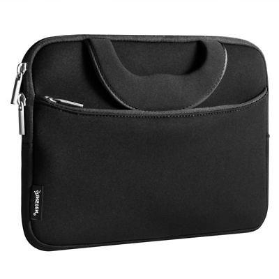 "10"" Laptop Sleeve Case Carry Bag + Handle For Tablet iPad No"