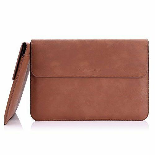 MoKo Universal 10-15inch Laptop Sleeve Leather Protective Cover