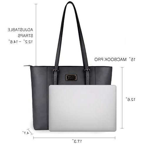 ZYSUN Tote in Large PU Leather Ease Work Shoulder Bag Women
