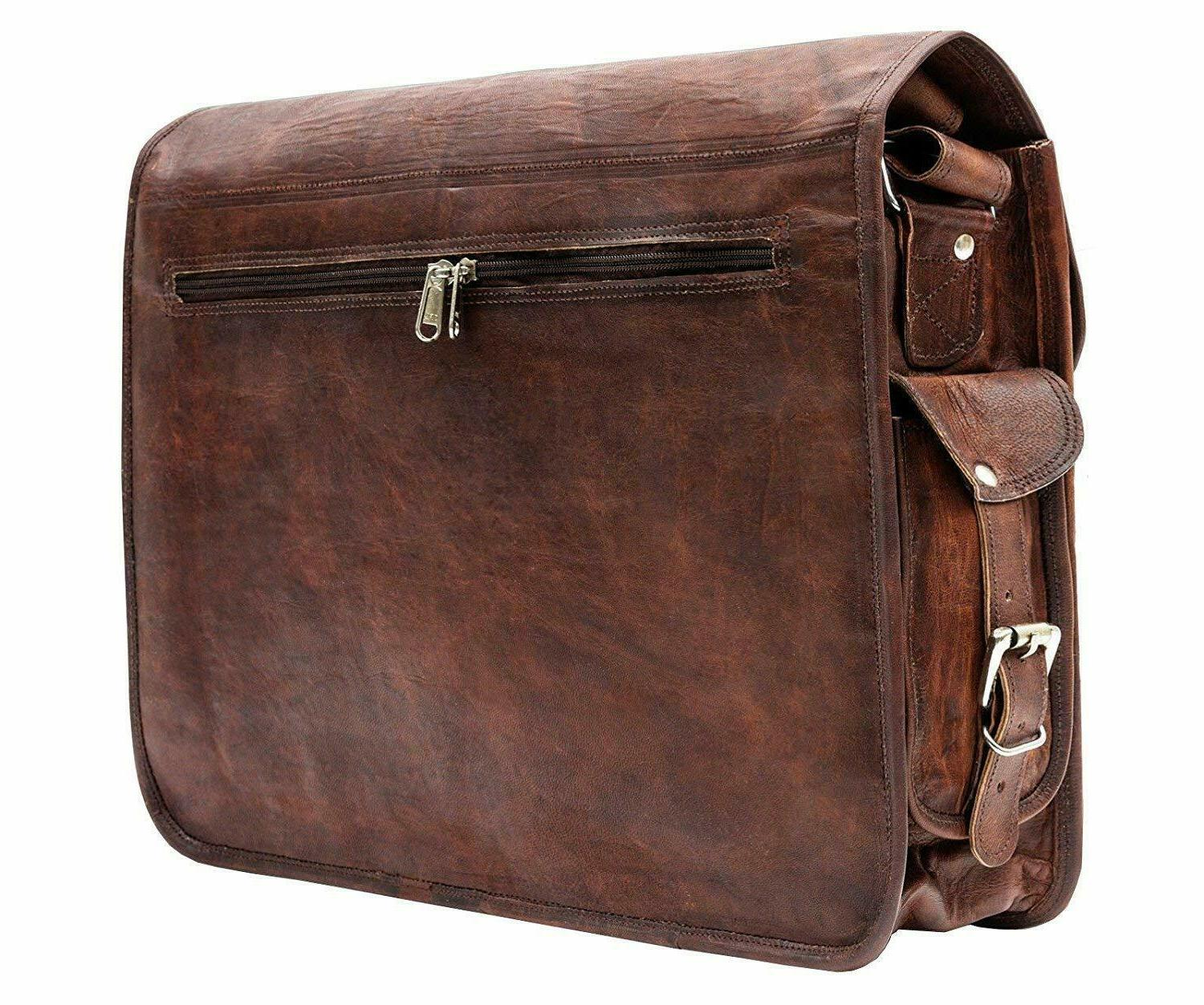 Leather Travel Case Lawyers Bag