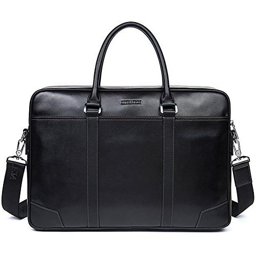 leather briefcase messenger business bags