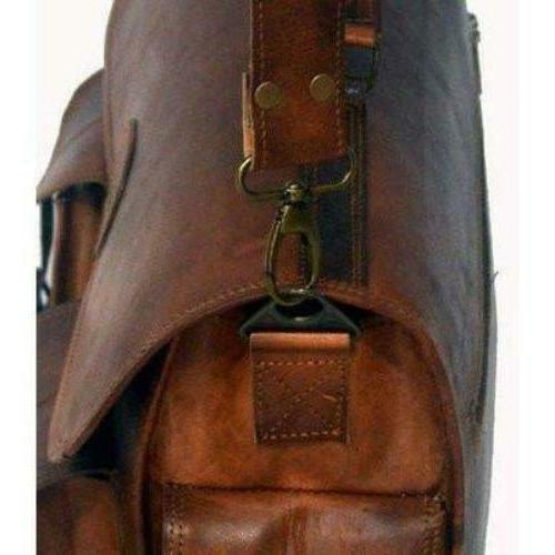 leather bag leather briefcase satchel bag men women bag