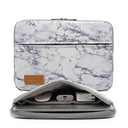 marble pattern protective canvas laptop