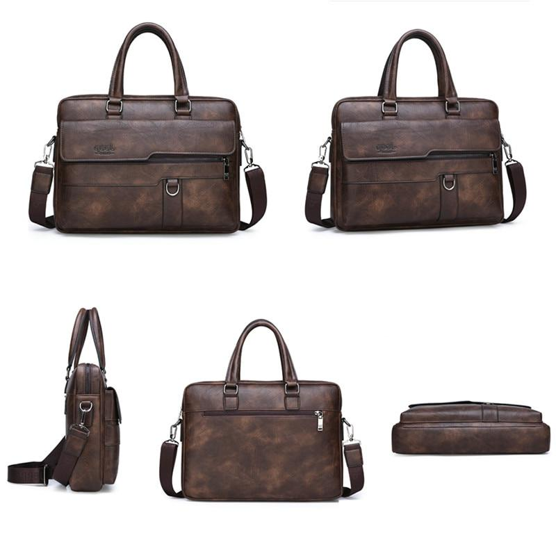 JEEP BULUO <font><b>Bag</b></font> Famous Brand <font><b>Messenger</b></font> Office Handbag 14 inch <font><b>Laptop</b></font>