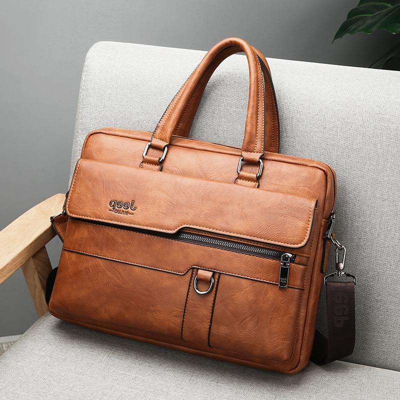 JEEP Briefcase <font><b>Bag</b></font> High Famous Brand <font><b>Messenger</b></font> <font><b>Bags</b></font> 14 inch <font><b>Laptop</b></font>