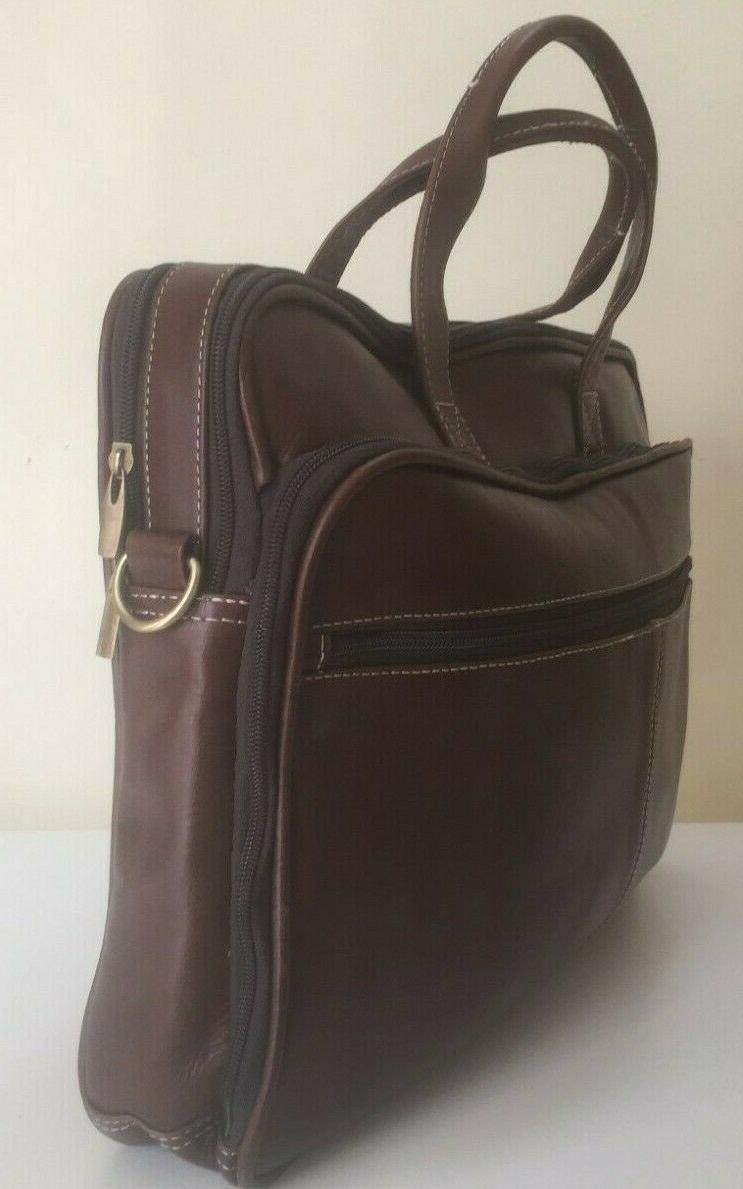 Men's Laptop Satchel Briefcase Messenger Bag