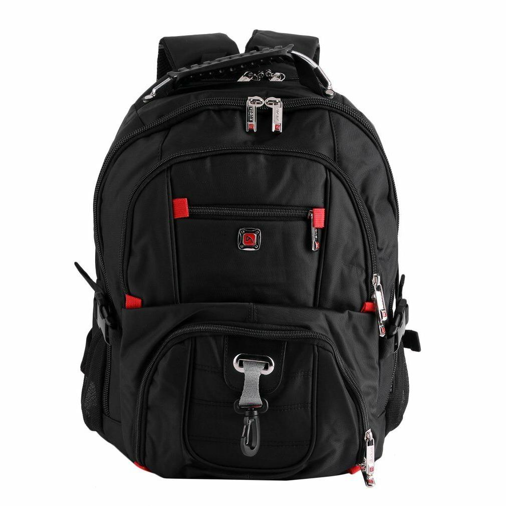 "Men's Rucksack Notebook 15.6"" Laptop Travel School"