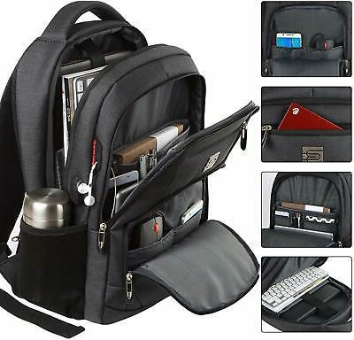 Mens Laptop Backpack Large Anti Theft Waterproof Travel Shou