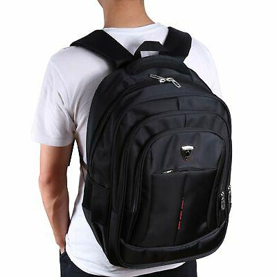 mens 17 inch laptop backpack outdoor travel