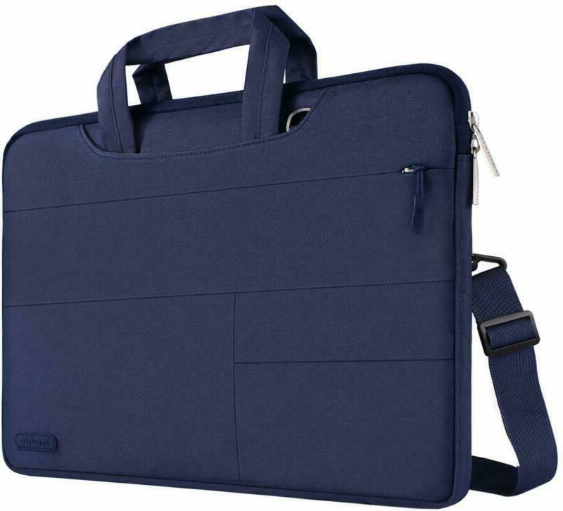 Mosiso Laptop Shoulder Bag Compatible With Macbook Pro 16 In