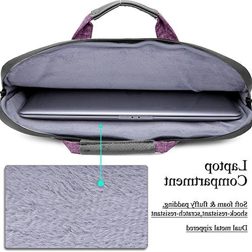 Brinch Suit Fabric Sleeve Bag Laptop, Tablet, - Purple