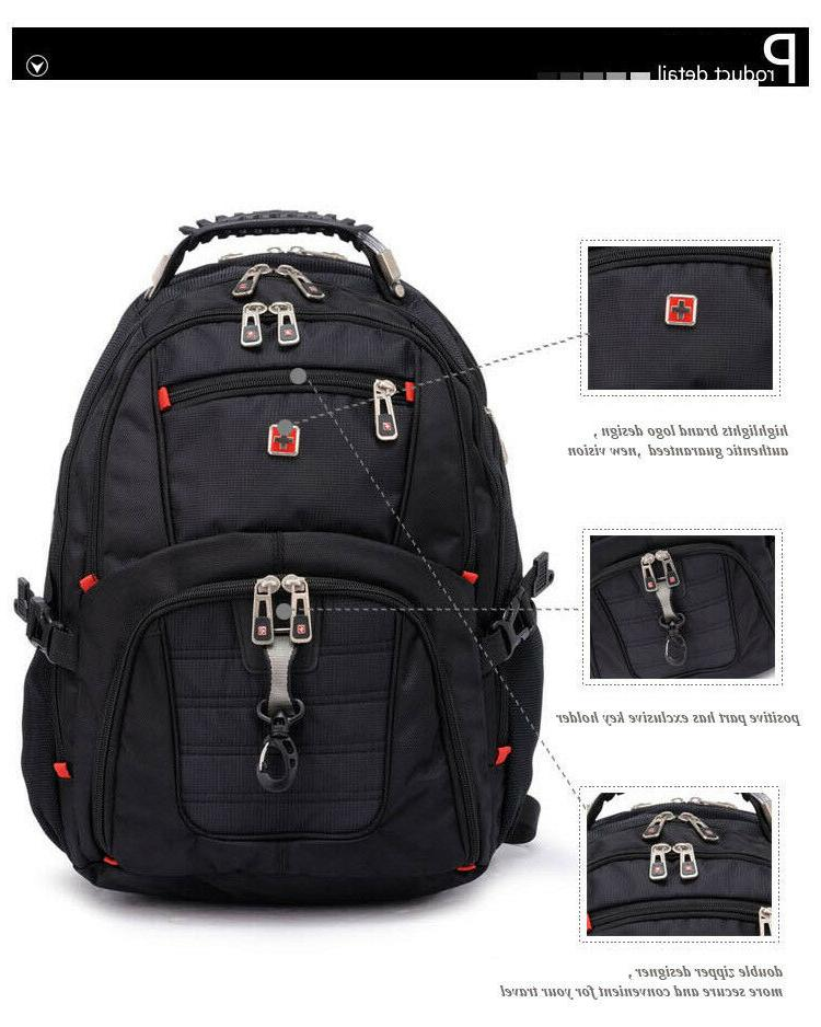 """SwissGear Multifunctional 17"""" backpack Charged Travel bag"""