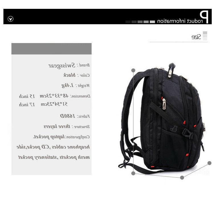 SwissGear backpack Charged