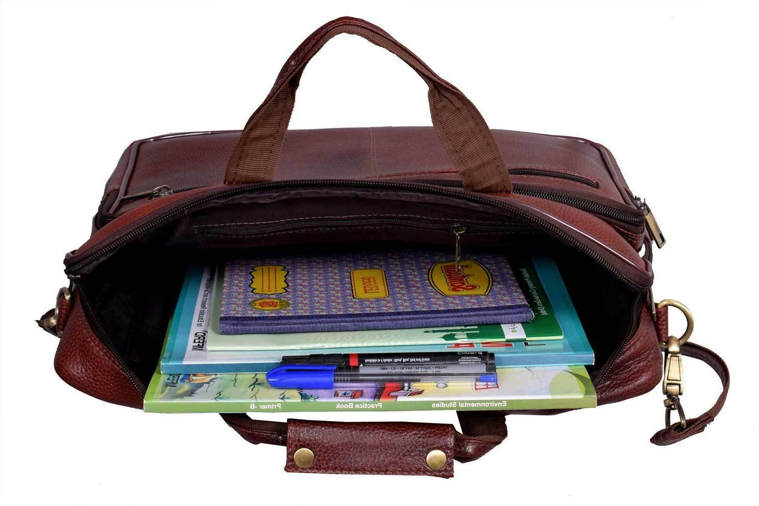New Laptop Shoulder Body Leather Bag 6 Day Delivery