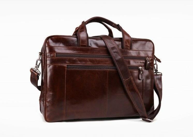 New Genuine Leather Mens 15""