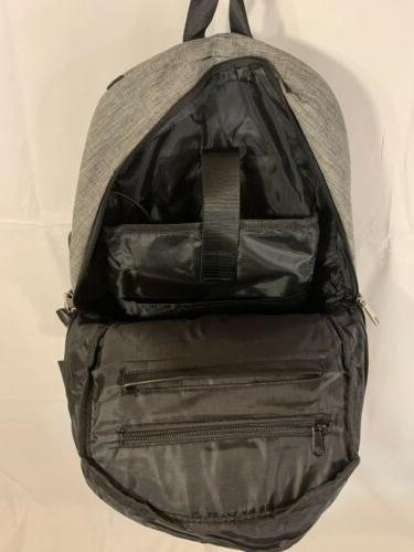 Mancro Laptop 17in Backpack Secure Lock Charger