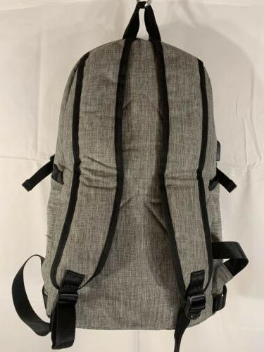 Mancro New Resistant Laptop Backpack With Charger