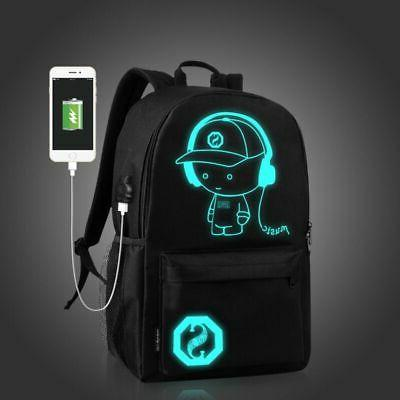 Night Backpack Laptop Bag Bags With