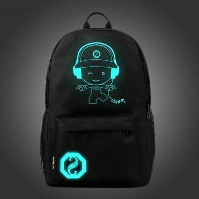 Night Anti-Theft Laptop Bags With