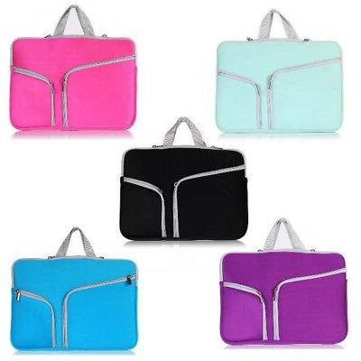 """Notebook New Portable Portable Laptop Cover Bag for 15"""""""