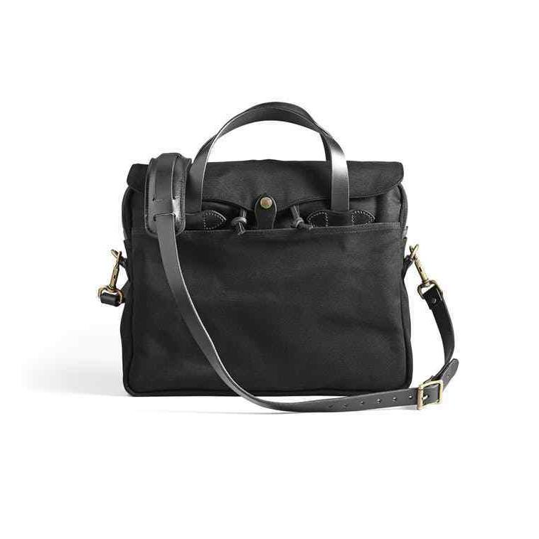 original briefcase leather and rugged twill laptop