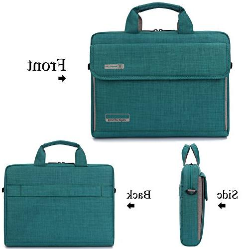 BRINCH New Style Fabric Unisex Universal Portable Laptop Carrying Briefcase - 14.6 / MacBook / / Computers with