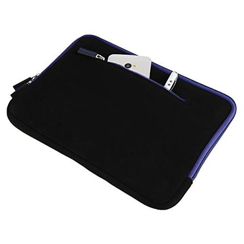 SumacLife Microsuede Quilted Cover fits ASUS inch Zenbook, Transformer Book,