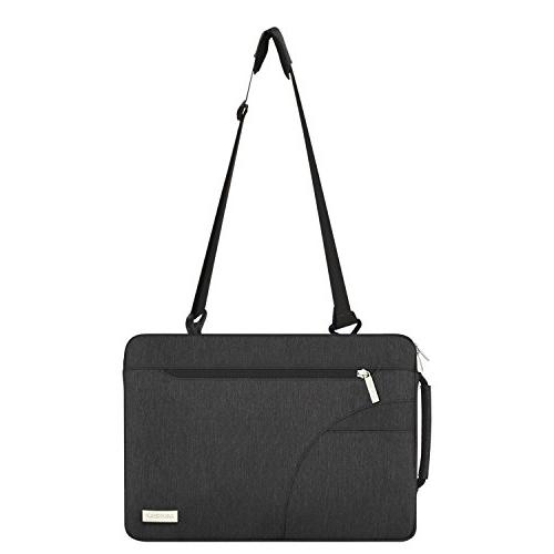 MOSISO Laptop Bag Compatible Polyester Protective Carrying Handbag