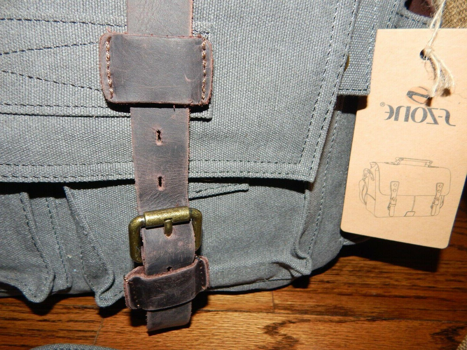 S-ZONE Style & Messenger Briefcase Laptop Bag