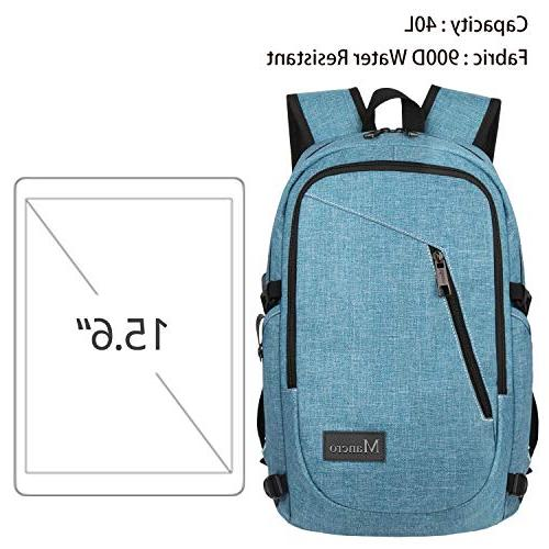 School Women, Anti Theft Backpack with USB Slim On Campus