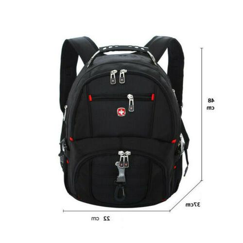 Swiss Travel Bag Backpack Notebook