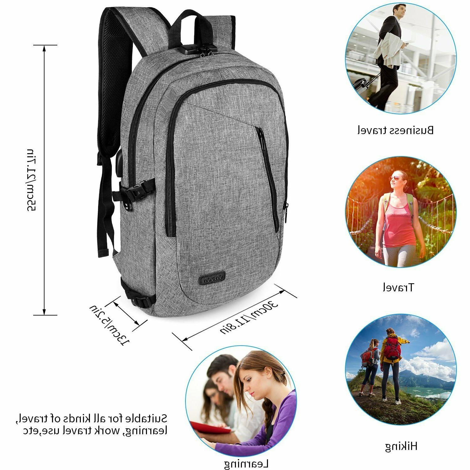 Anti Theft School Casual Travel Bag