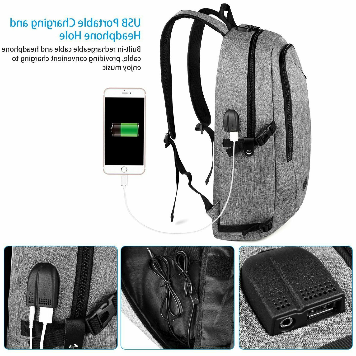 Anti Backpack School Bag
