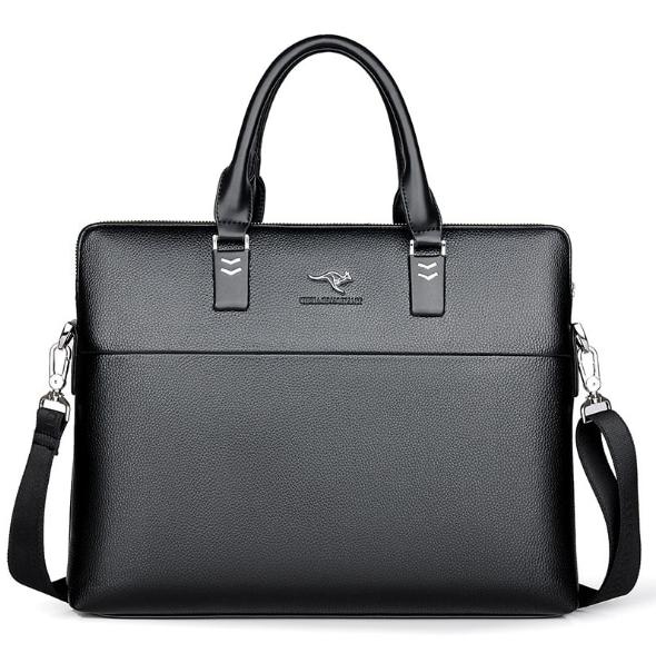 TIANHONGDAISHU <font><b>Business</b></font> Shoulder Leather <font><b>Bags</b></font> Computer Laptop Men's <font><b>Bags</b></font>