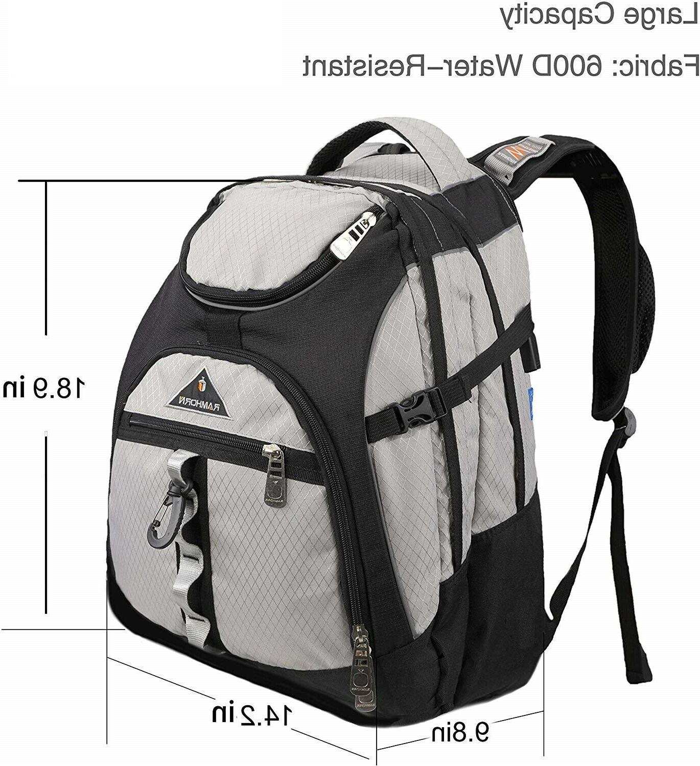 travel laptop backpack extra large college school