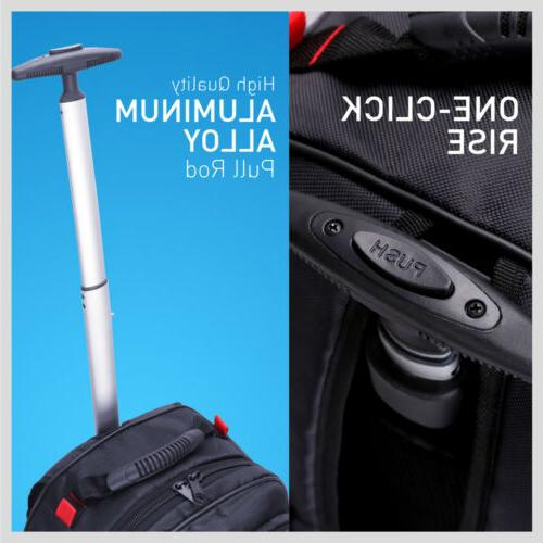 Trolley Luggage Travel Laptop Roller Wide 20inch