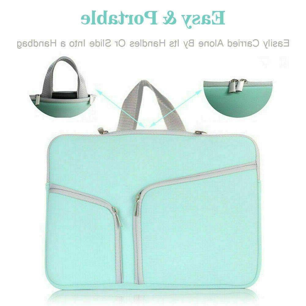 """For 12 15""""Inch Laptop Sleeve Case Carry Pouch Bag"""