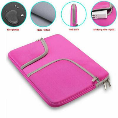 """For 12 15""""Inch Sleeve Case Carry Pouch Bag Cover"""
