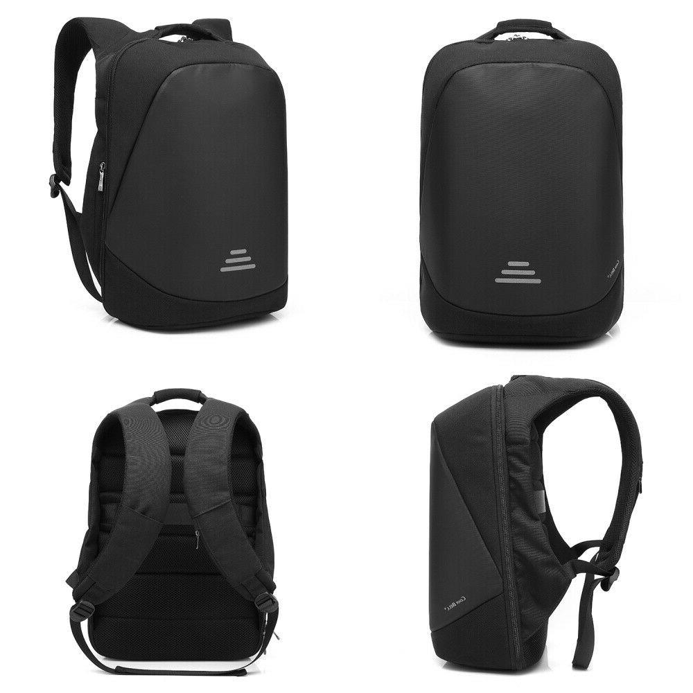 """CoolBELL 17.3"""" Laptop Backpack Anti-theft Code Lock+USB"""